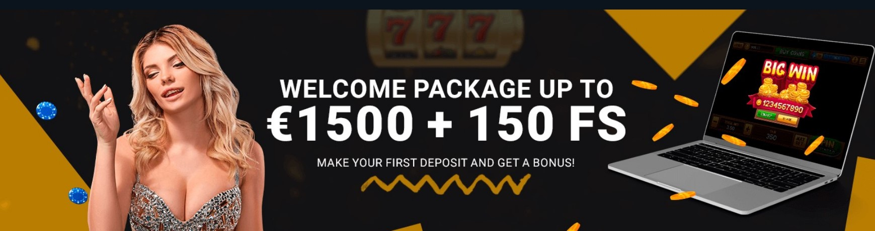 1xBet casino bonus with promo code